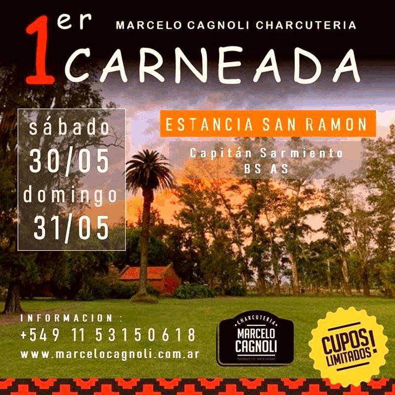 Finde y Carneada en Capitán Sarmiento – 30 de Mayo